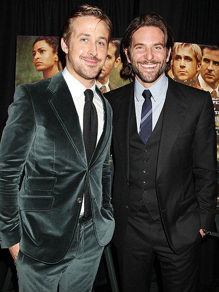 BRADLEY: ADMITS HE'S SEXY photo | Bradley Cooper, Ryan Gosling