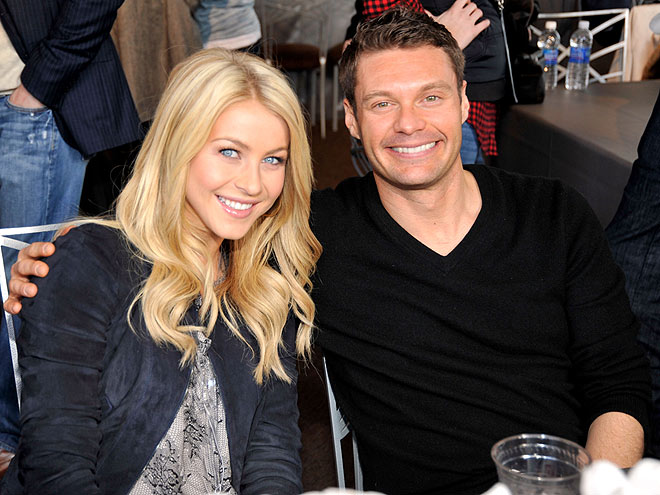 GAME ON photo | Julianne Hough, Ryan Seacrest