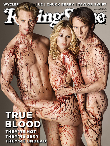 ANNA & STEPHEN photo | Alexander Skarsgard, Anna Paquin, Stephen Moyer