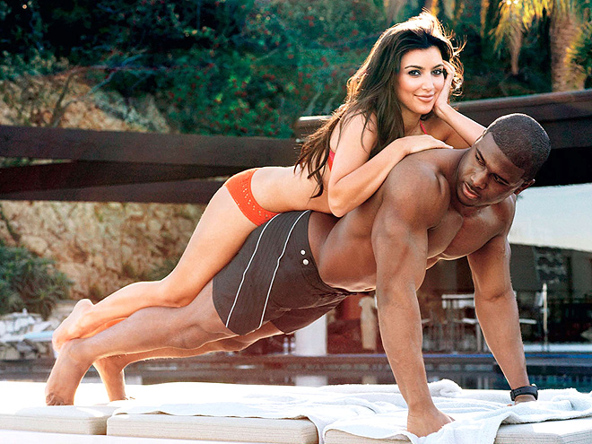 KIM & REGGIE photo | Kim Kardashian, Reggie Bush