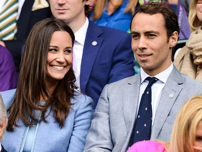 THE AUNT & UNCLE photo | James Middleton, Pippa Middleton
