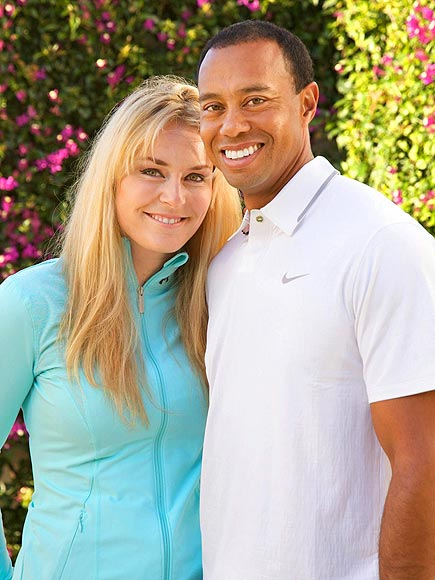 TIGER & LINDSEY photo | Tiger Woods