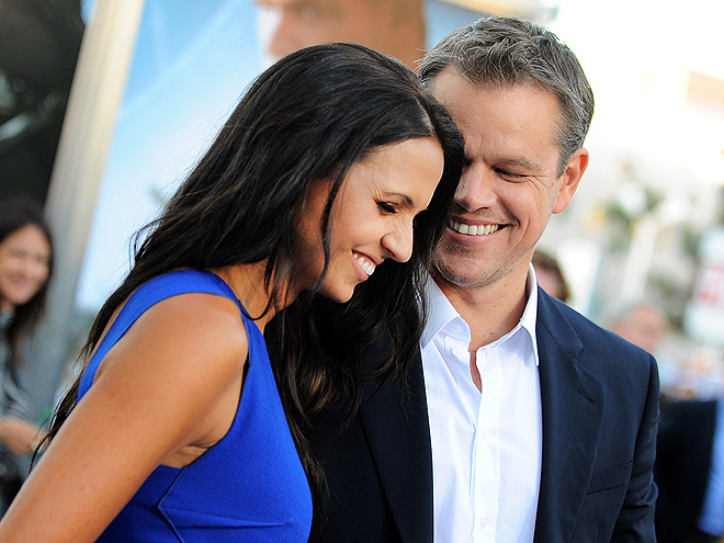 LUCIANA & MATT photo | Matt Damon