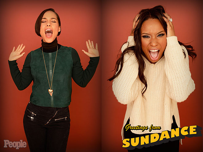 ALICIA KEYS & JENNIFER HUDSON photo | Alicia Keys, Jennifer Hudson