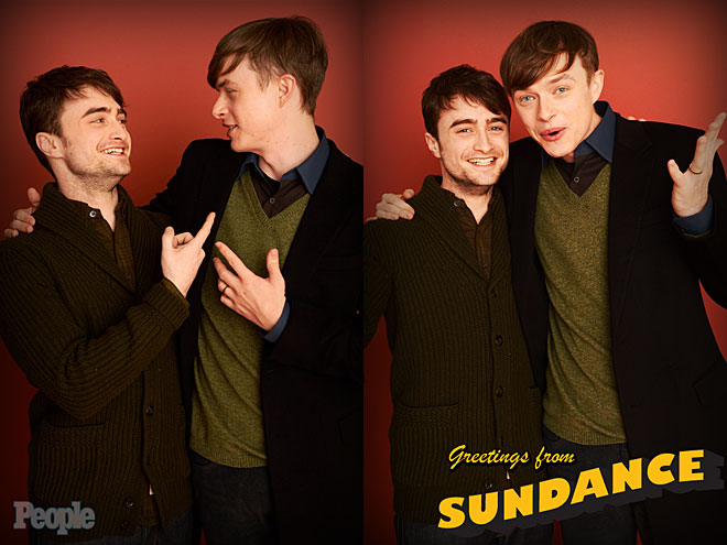 DANIEL RADCLIFFE & DANE DEHAAN photo | Daniel Radcliffe
