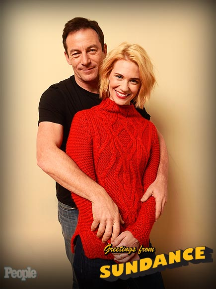 JANUARY JONES & JASON ISAACS photo | January Jones, Jason Isaacs