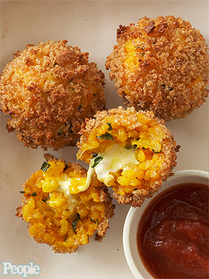 Rocco DiSpirito's  Unfried Rice Balls 'Arancini'| Rocco DiSpirito