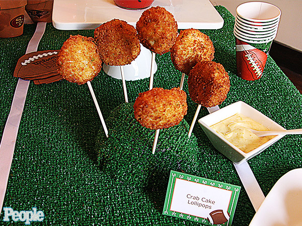 Erika Monroe-Williams's Crab Cake Lollipops| Super Bowl