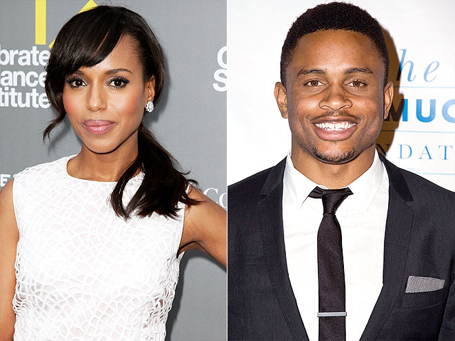 KERRY & NNAMDI photo | Kerry Washington, Nnamdi Asomugha