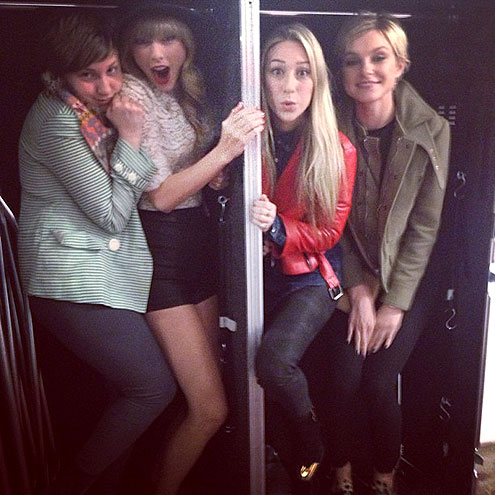 LENA  photo | Jessica Stam, Lena Dunham, Taylor Swift