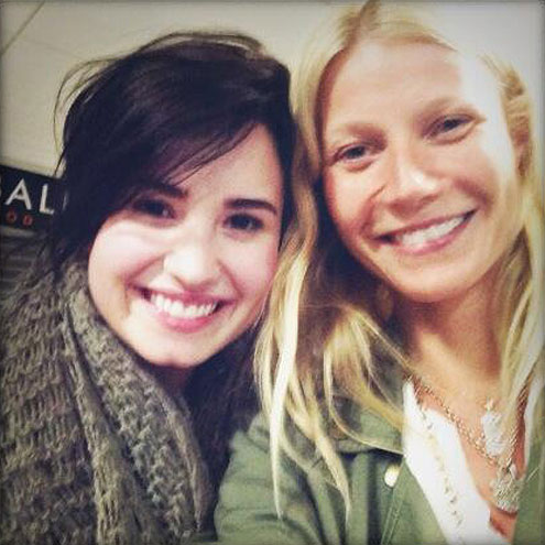 DEMI & GWYNETH photo | Demi Lovato, Gwyneth Paltrow