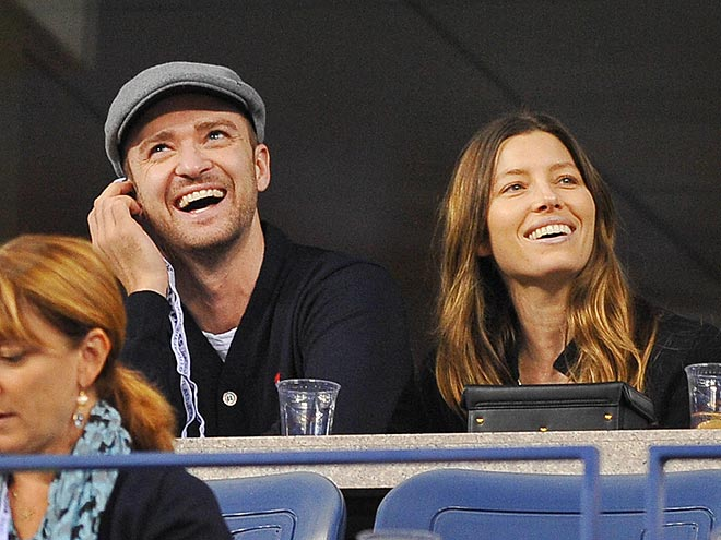 TWO CUTE photo | Jessica Biel, Justin Timberlake