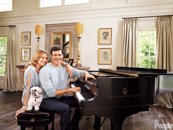 Harry Connick Jr. at Home
