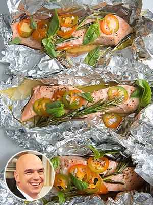 Michael Symon Baked Salmon