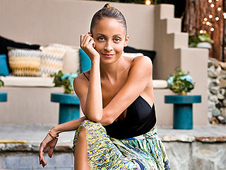 Nicole Richie Backyard