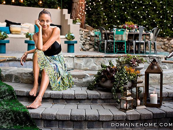 Nicole Richie Backyard