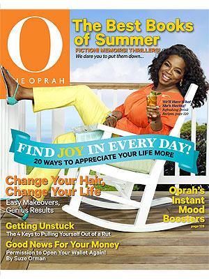 Oprah's Watermelon Mint Martini