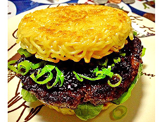 Make Your Own Ramen Burger