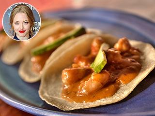 Amanda Seyfried Mercadito tacos