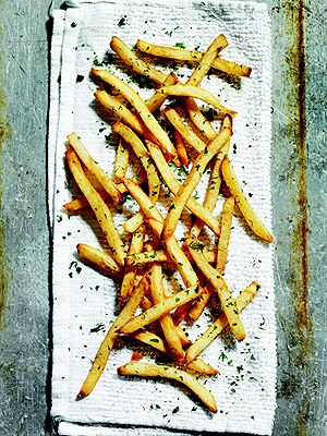 Richard Blais French fries recipe