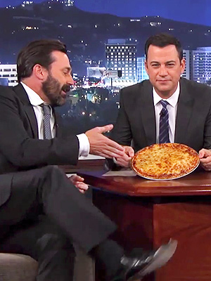 Jon Hamm on Jimmy Kimmel Live