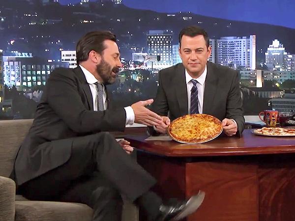 Jon Hamm on Jimmy Kimmel Live