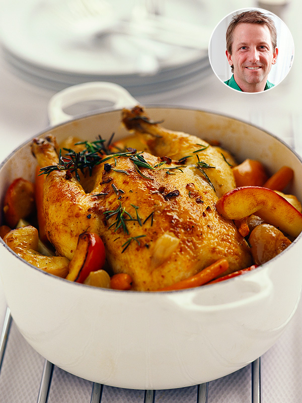How 'Bout Them Apples? A Sweet New Way to Roast a Chicken