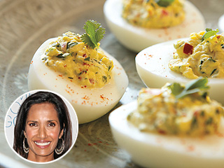 Top Chef's Padma Lakshmi's Deviled Eggs Recipe
