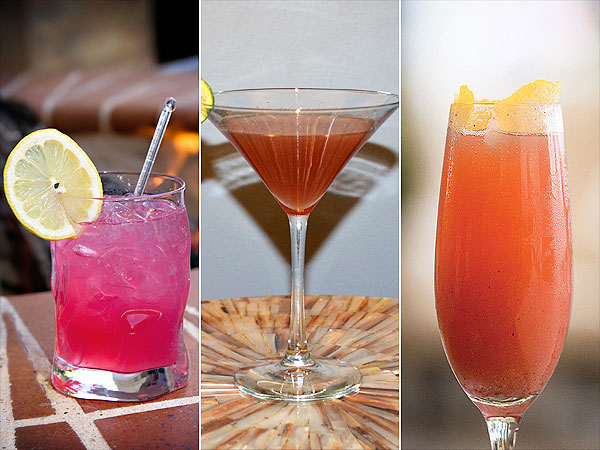 Breast Cancer Awareness Cocktails