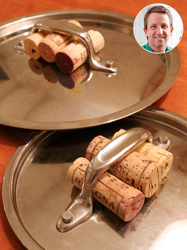 The Kitchn wine cork pot gripper