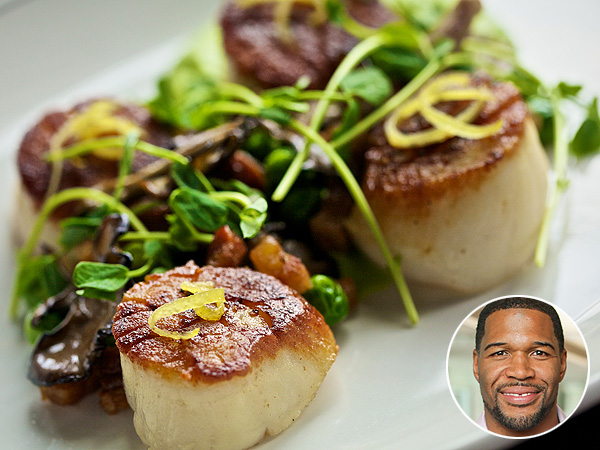 Michael Strahan Boarding House Scallops