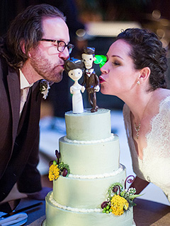 Stephanie Izard Wedding Cake