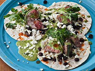 New York City Wine & Food Festival: Bobby Flay Tacos Recipe
