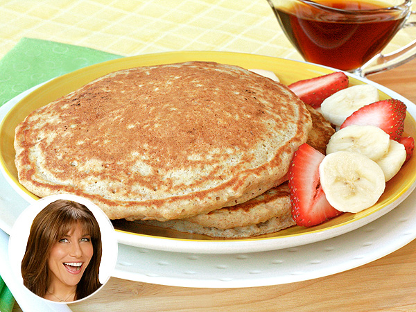 Hungry Girl Nigel Barker Banana Pancakes