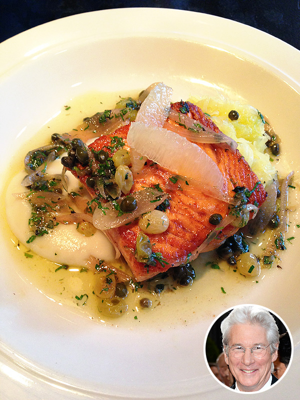 Richard Gere Salmon Recipe The Dandelion