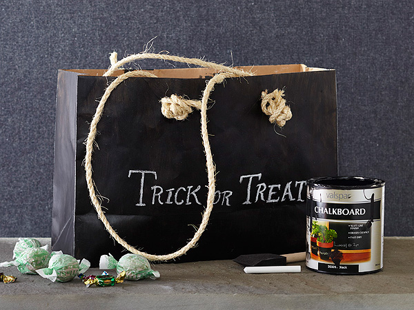 Halloween Craft: Trick or Treat Bag