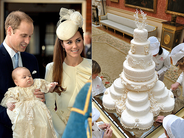 Royal Christening Cake