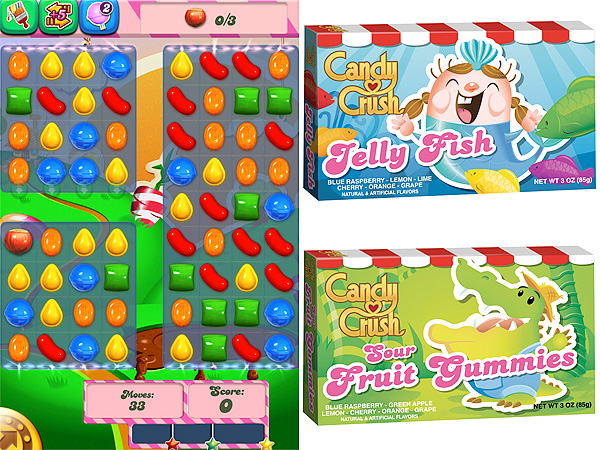 New Candy Crush Candies