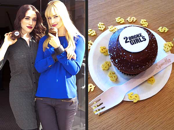 2 Broke Girls Cupcakes