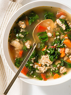 Giada De Laurentiis Turkey Soup Thanksgiving