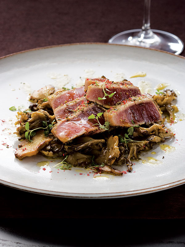Charlie Trotter Peppered Tuna Recipe