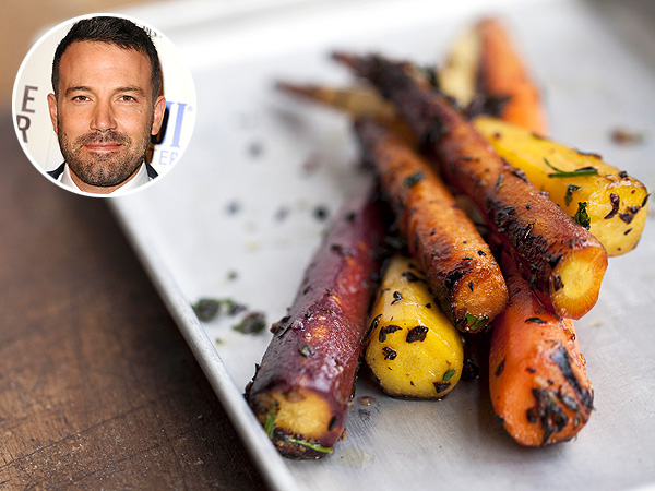 Veg Out: Ben Affleck Loves These Crunchy Maple Carrots