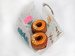 Heidi Klum, Jonathan Adler Design One-of-a-Kind Boxes for Special Pumpkin Cronut