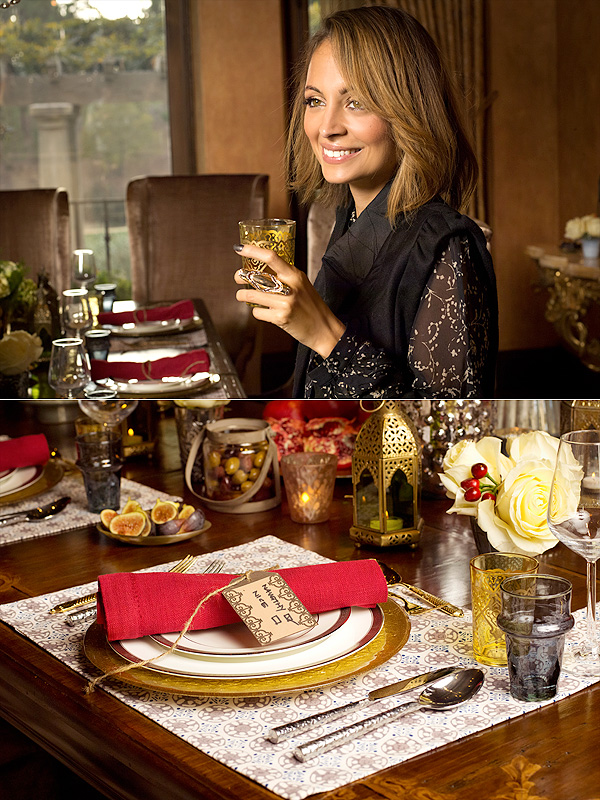From a Metallic-Chic Tablescape to Gluten-Free Gingerbread: Celebrate the Holidays With Nicole Richie
