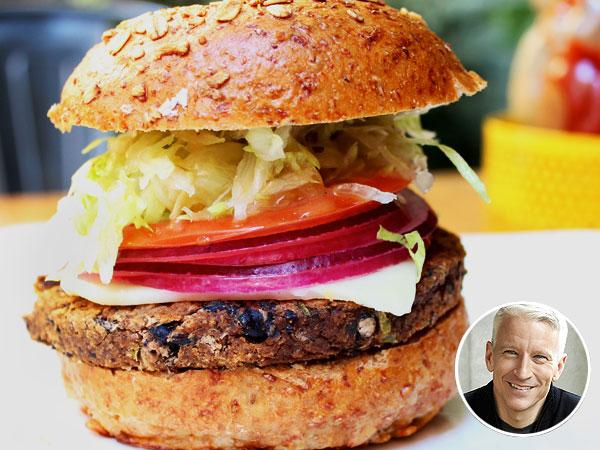 Anderson Cooper Bareburger Veggie Burger Recipe