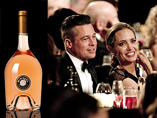 Brad Pitt & Angelina Jolie Wine Best Rosé in the World
