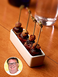 David Burke Bacon-Wrapped Dates Recipe