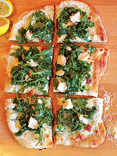 Tiffani Thiessen White Pizza Recipe