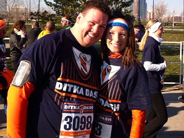 Graham Elliot completes his first 5k race