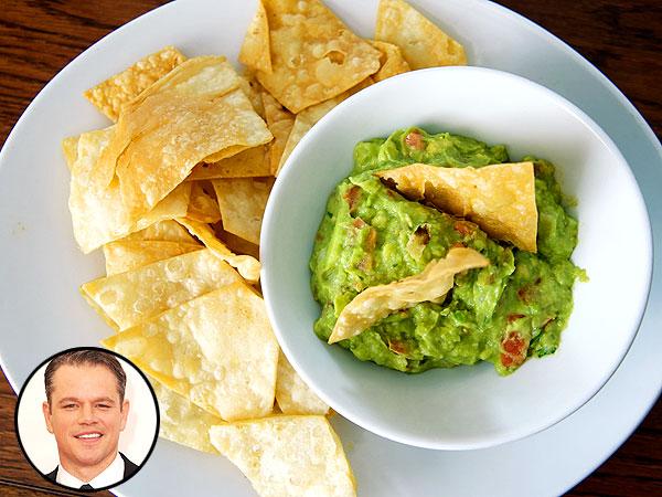Matt Damon Casa Vega Guacamole Recipe